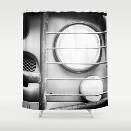 Eye Eye Comrade Lamp Shower Curtain