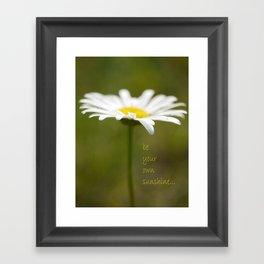 Be Your Own Sunshine Framed Art Print