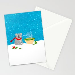 Soup - Koala bear Stationery Cards
