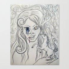 ughh [revised] Canvas Print