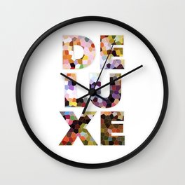 Deluxe Wall Clock