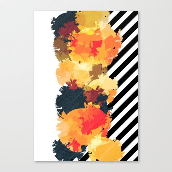 The Fall Patterns #3  Canvas Print