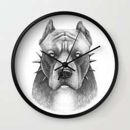 Pitbull Wall Clock