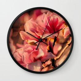 Magnolia Dawn Wall Clock