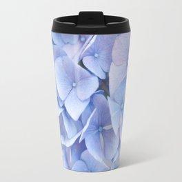 Blue Hydrangeas #3 #decor #art #society6 Travel Mug
