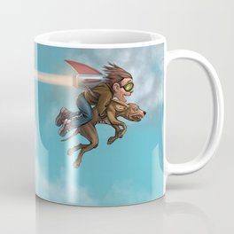 Rocket Dog Coffee Mug
