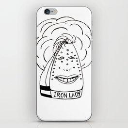Iron Lady iPhone Skin