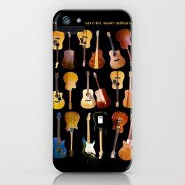 Guitars Galore iPhone Case