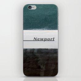 Newport Waterline Project iPhone Skin