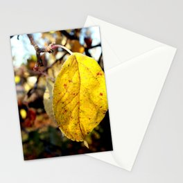 Leaves in full bloom Stationery Cards