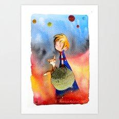 Little Prince Art Print