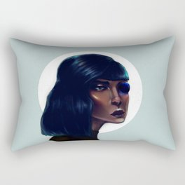 Mod Monocle Rectangular Pillow