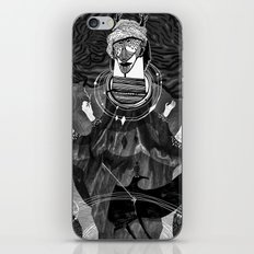 God of Birds iPhone & iPod Skin