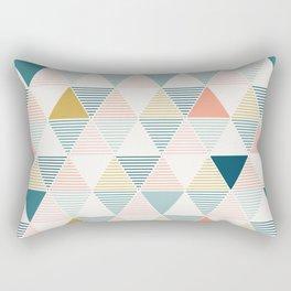 Modern Geometric Rectangular Pillow
