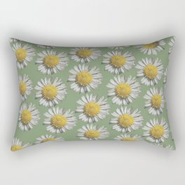 pastel daisy mania Rectangular Pillow