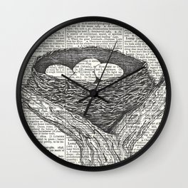 Lullaby of Birdland Wall Clock