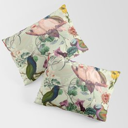 Floral and Birds VIII Pillow Sham