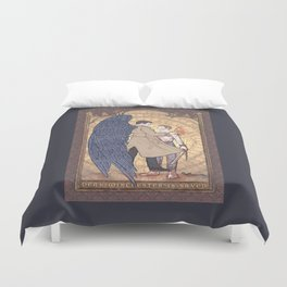 Angelic Intervention (Dean Winchester is Saved) Duvet Cover