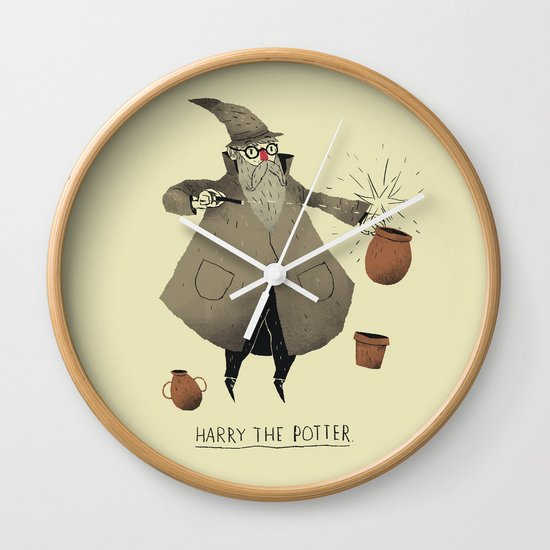 the potter. Wall Clock