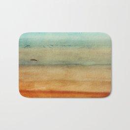 Abstract Seascape No 4: the beach Bath Mat