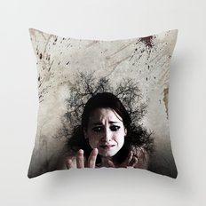 Crown of Thorns Throw Pillow