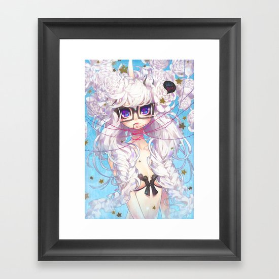 fixation Framed Art Print