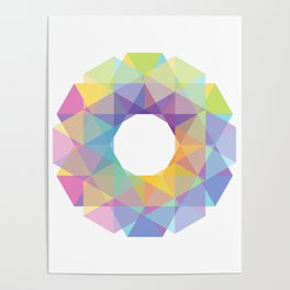 Fig. 036 Colorful Circle Poster