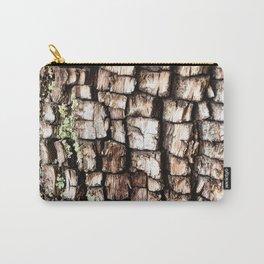 Ancient Juniper Bark Carry-All Pouch