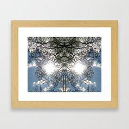 Twit Twoo Twigs Framed Art Print