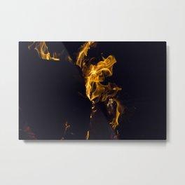 Fire 2 Metal Print