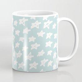 Stars on mint background Coffee Mug