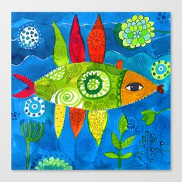 FISH2 Canvas Print