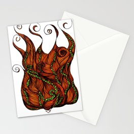Vine Head Stationery Cards