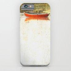 Red metal iPhone 6s Slim Case