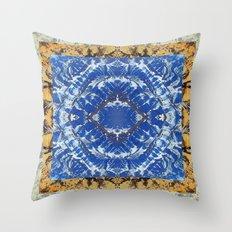 AFGHAN MOUNTAINS MANDALA Throw Pillow