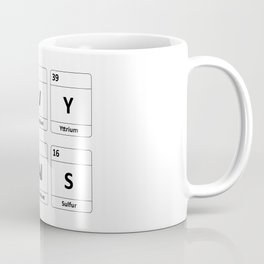 Navy SEALs Periodic Table Elements Coffee Mug