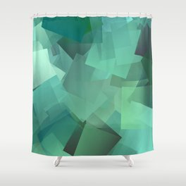 Ice age ... Shower Curtain