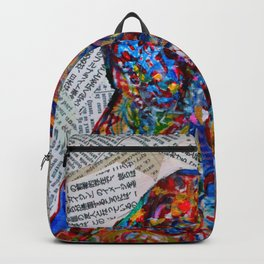 YIN YANG WORDS #society6 #decor #buyart Backpack
