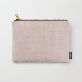 Silver Peony Carry-All Pouch