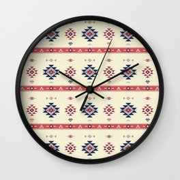 AFE Tribal Pattern2 Wall Clock