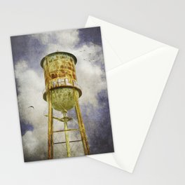 Hampton Station water tower Stationery Cards