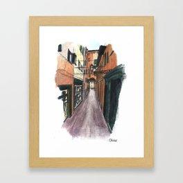 Bologne Framed Art Print