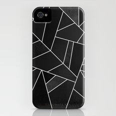 Black Stone iPhone (4, 4s) Slim Case