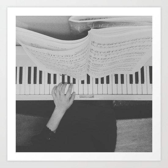 play // instagram // Art Print