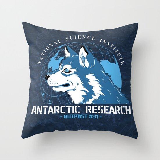 Outpost#31 Throw Pillow