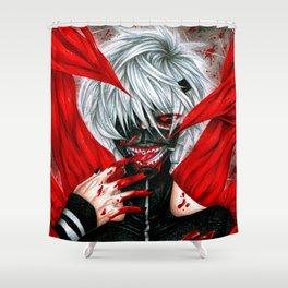 Tokyo Ghoul - Ken Kaneki Shower Curtain