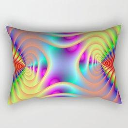 Double Spiral Rectangular Pillow