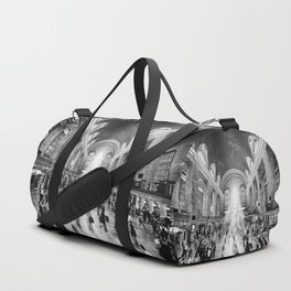 Grand Central Daylight (classic black & white edition) Duffle Bag