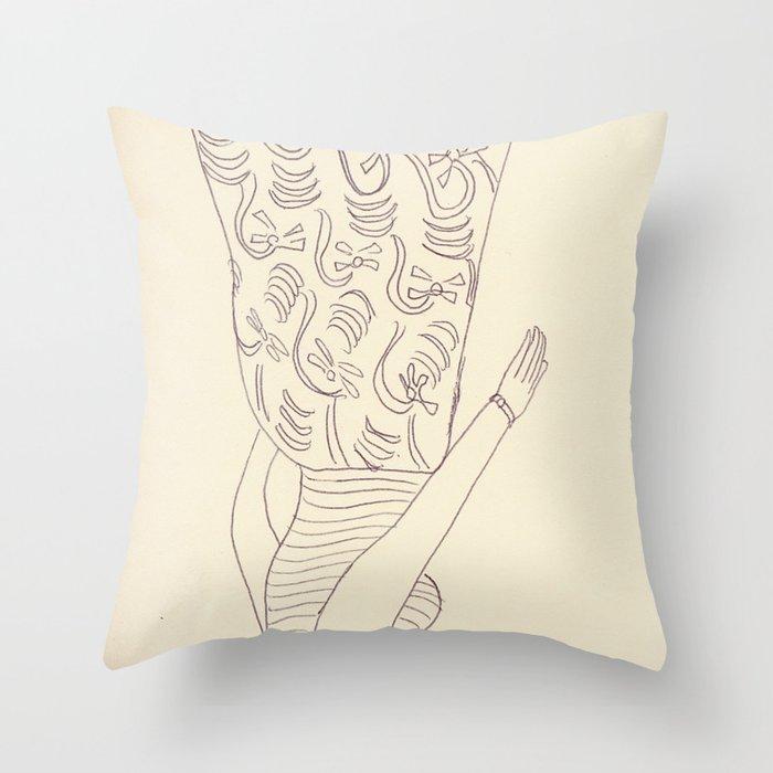 20090825 _3 Throw Pillow