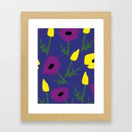 Flowery2 Framed Art Print